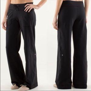 Lululemon Still Grounded Wide Leg Black Pants 10